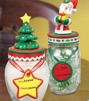 Christmas Jar Toppers