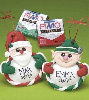 Santa & Elf Ornaments