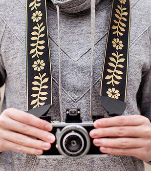 Floral Camera Strap