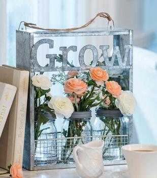 Bloom Room Galvanized Grow Window Sitter