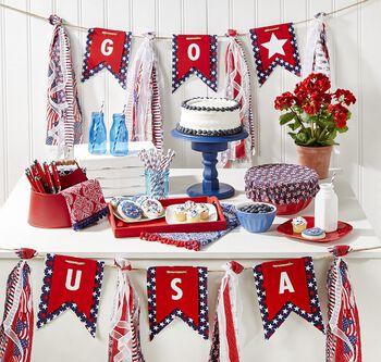 USA Fabric Banner