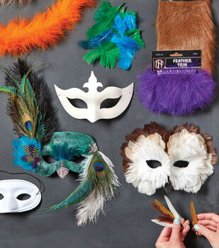 How To Make Peacock and Owl Masks