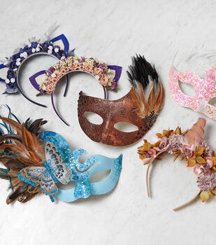 Whimsical Masks And Headbands