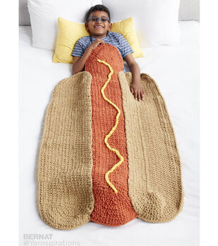 How To Make A Hot Doggin'! Crochet Snuggle Sack