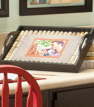 Wine Cork Frame Tray