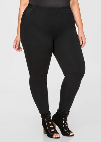 Basic Ponte Skinny Pant