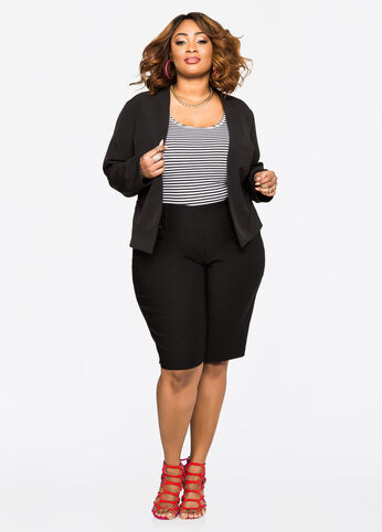 Plus Size Outfits - Desk to dinner