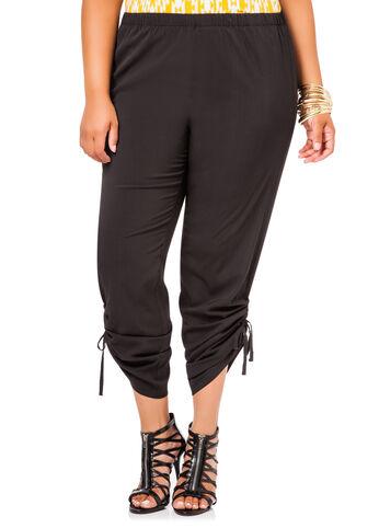 Ruched Leg Soft Pants
