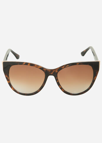 Perfect Cat Eye Sunglasses Tort - Accessories
