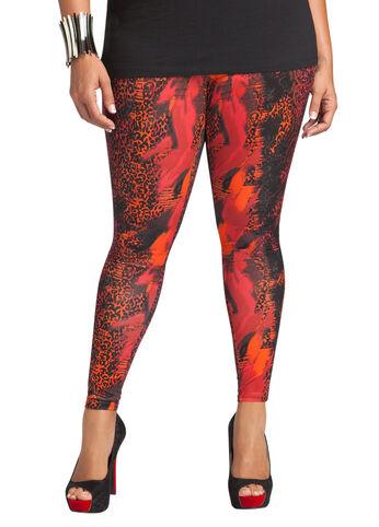 Cheetah Print Legging