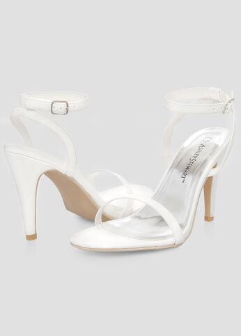 Ankle Strap Dress Sandal - Wide Width