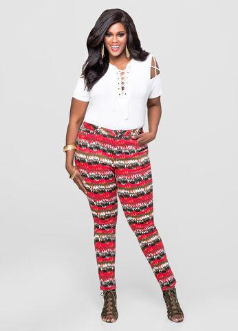 Tribal Skinny Pants