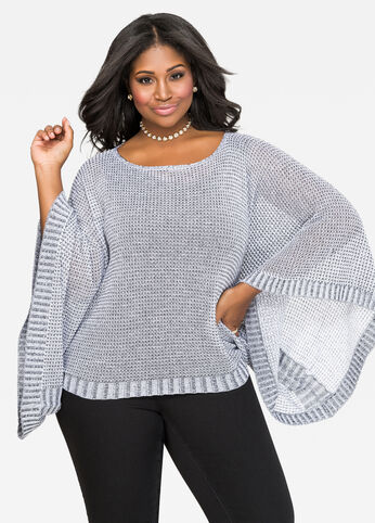 Batwing Pullover Sweater