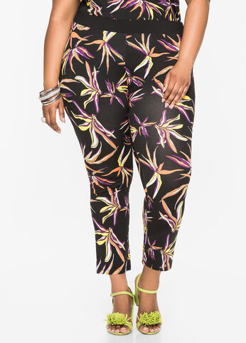 Ankle Length Tropical Legging