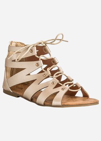 Gladiator Lace-Up Sandal - Medium Width