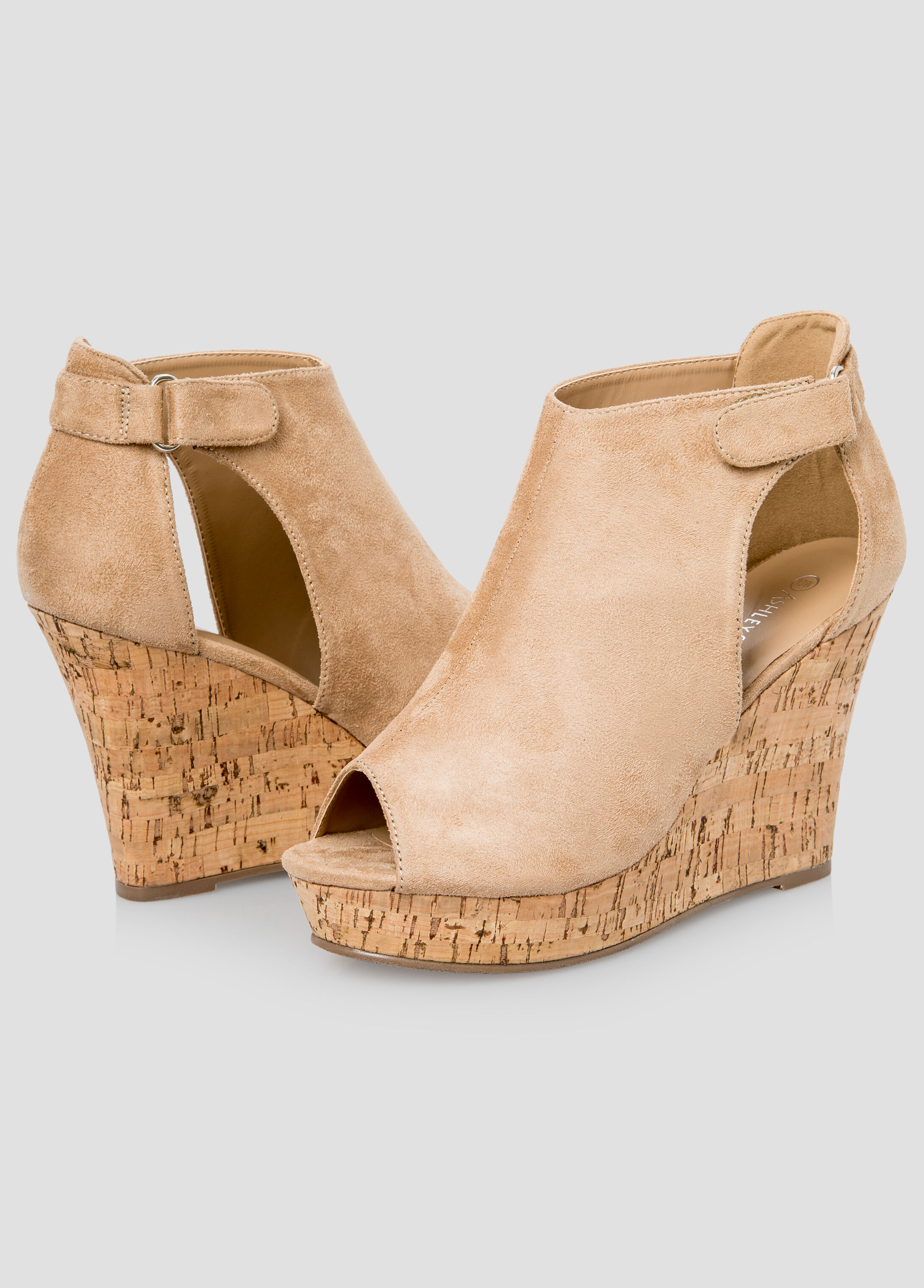 3bdfb3aede7b Open toe cork wedge wide width plus size shoes ashley jpg 346x482 Wide  width wedge sandals
