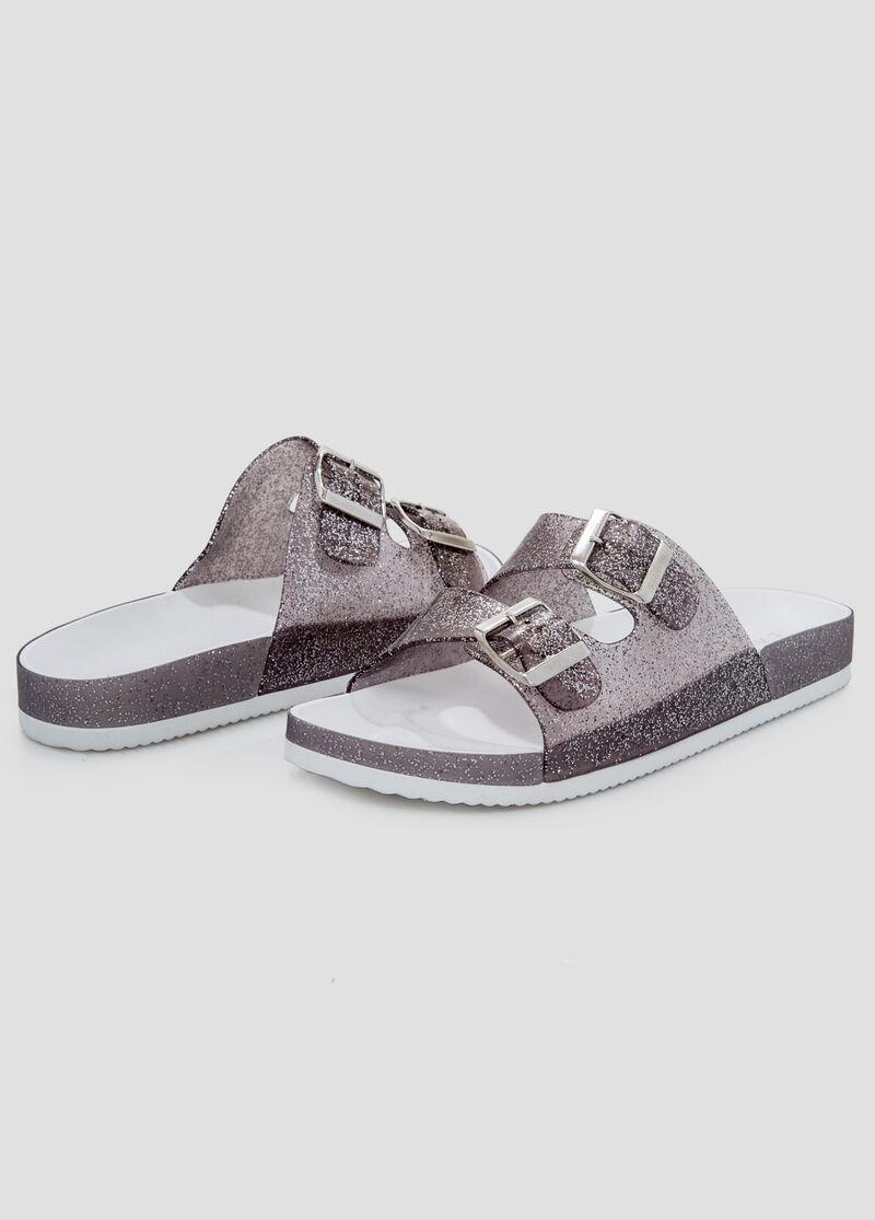 Womens sandals in wide width - Jelly Slide Sandal Wide Width