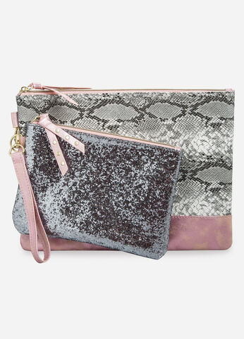 Glam Wristlets - Set of 2 Nude - Accessories