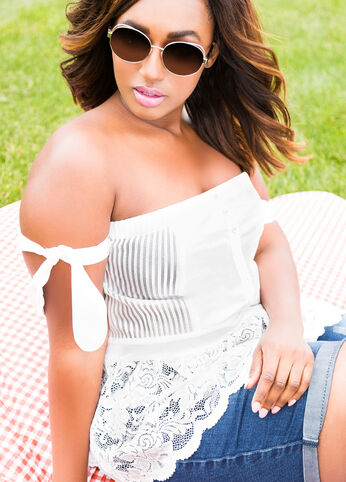 Plus Size Outfits - Sitting Pretty
