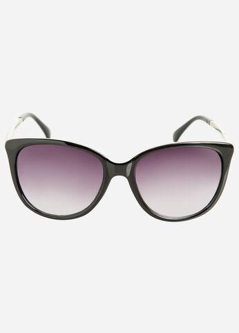 Embossed Cat Eye Sunglasses