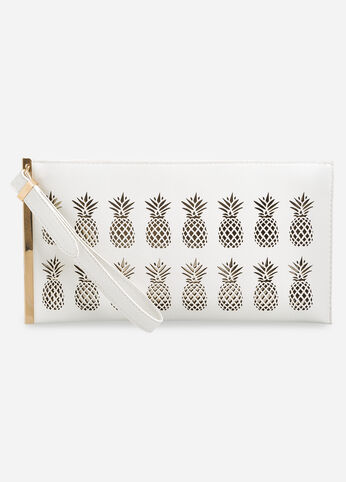Perforated Pineapple Clutch