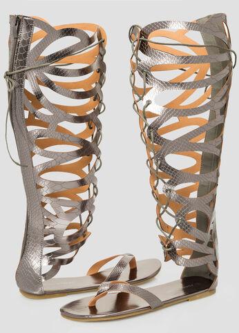 Wide Calf Gladiator Sandal - Wide Width