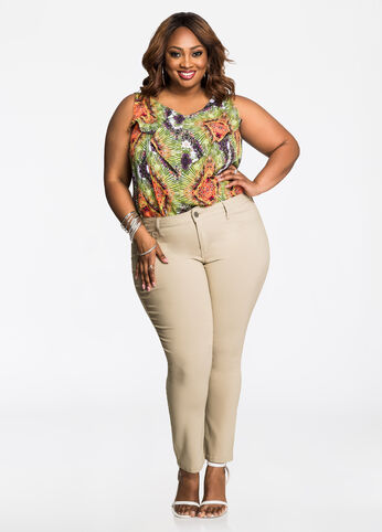 Plus Size Outfits - Professional Print