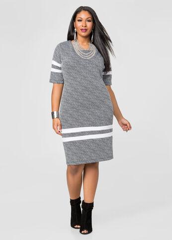 Varsity Stripe Dress
