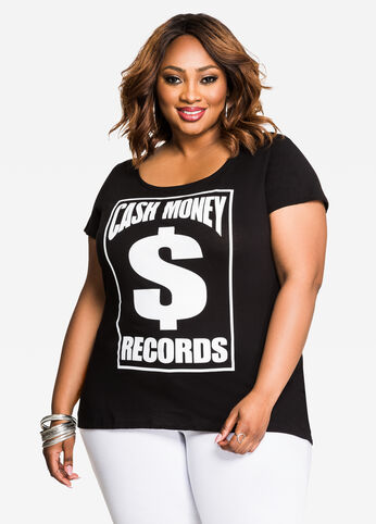 Cash Out Hip Hop Graphic Tee