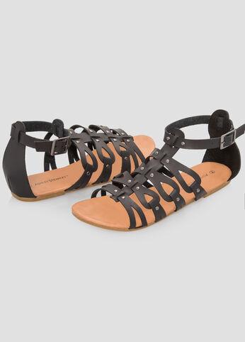 Caged Gladiator Sandal - Wide Width