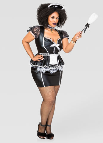 Sexy Maid Plus Size Costume
