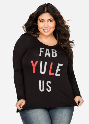 Fab-Yule-Us Holiday Tee