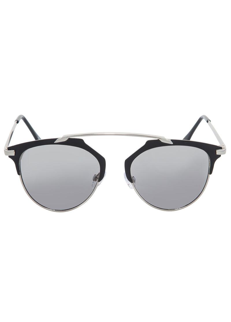 Rimless Clubmaster Glasses : Semi-Rimless Clubmaster Sunglasses-Plus Size Accessories ...