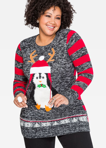 Penguin Holiday Sweater