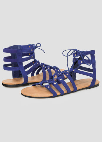 Flat Lace-Up Gladiator - Wide Width