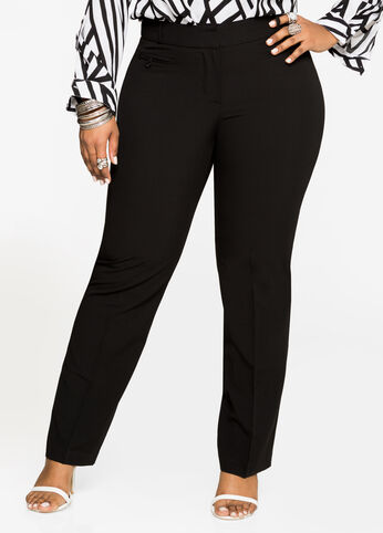 The New Power Pant Black - Bottoms