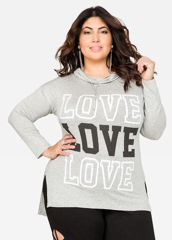 LOVE T-Shirt Hoodie