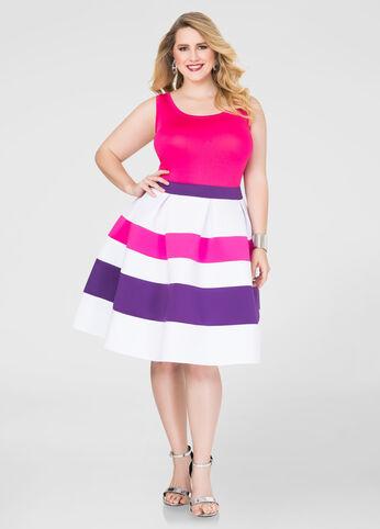 Tri-Color Neoprene Skirt