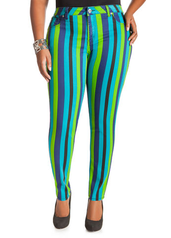 Cool Stripe Jeggings