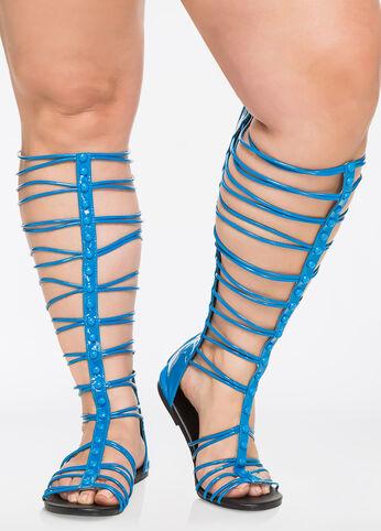 Gladiator Sandals - Wide Width