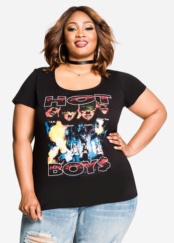The Hottest Hip Hop Graphic Tee