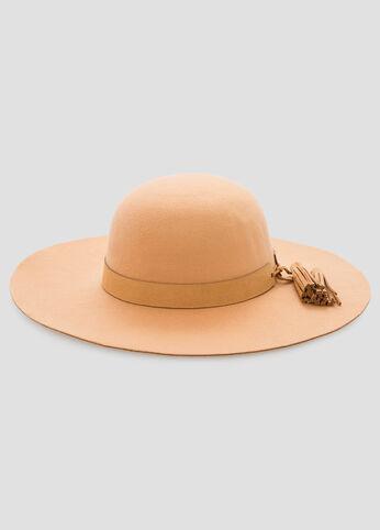 Tassel Band Floppy Hat