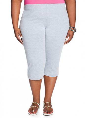 French Terry Active Capri Pant