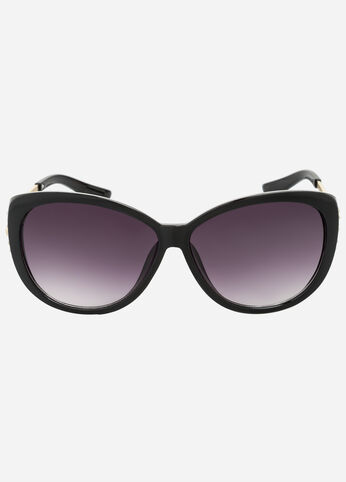 Butterfly Detail Sunglasses