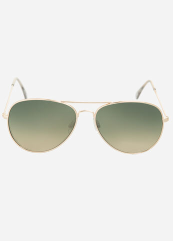Tinted Classic Aviator Sunglasses