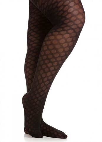 Retro Dotted Tights