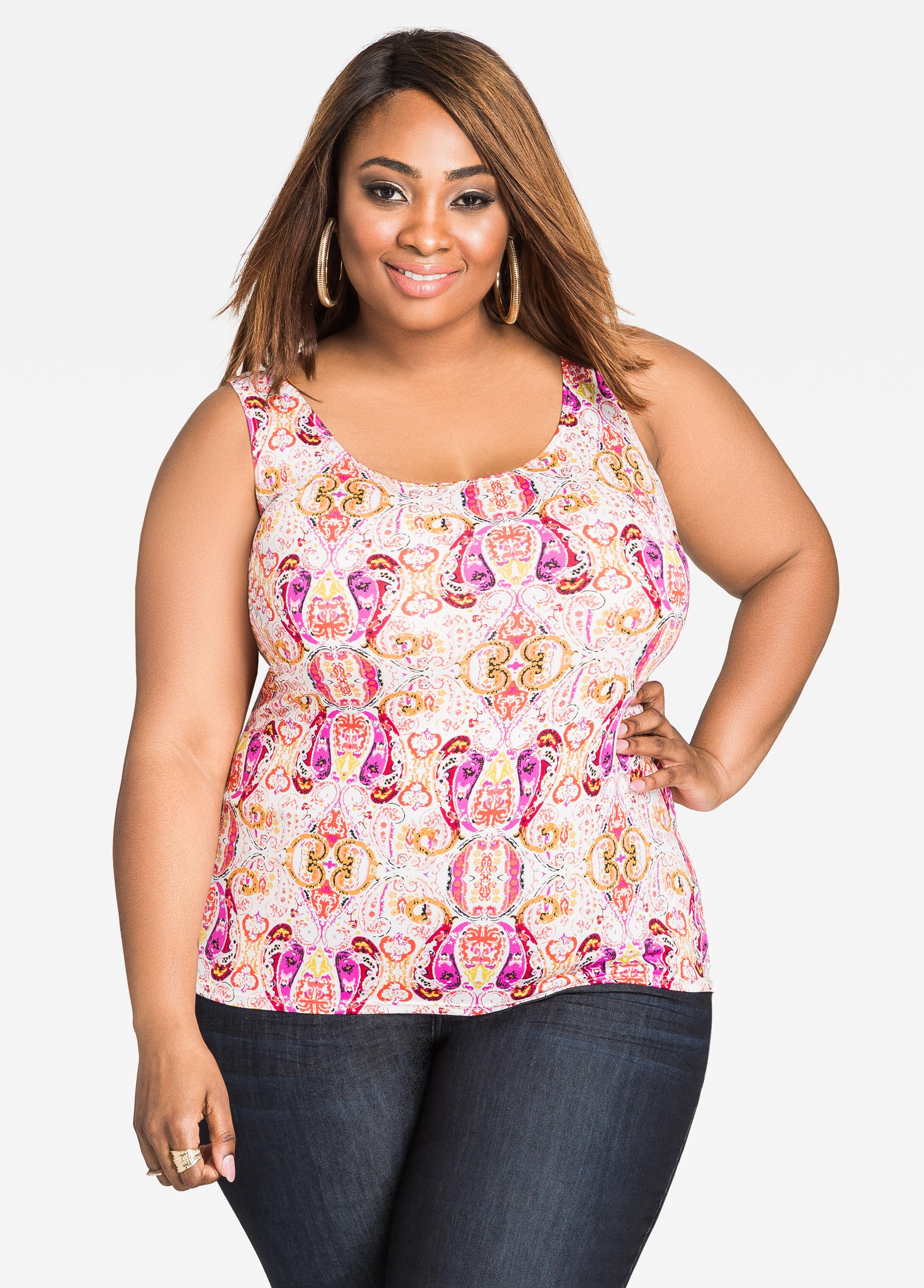 Trendy Plus-Size Tops, Tunics, Shirts & Tees   Sizes 12 - 32 ...