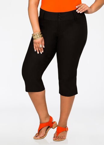 Cropped Super Stretch Pant