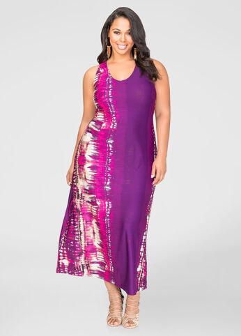 Bold Boho Print Maxi Dress
