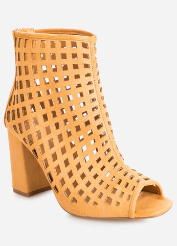 Perforated Bootie - Wide Width